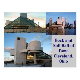 Panthéon Cleveland, Ohio de rock Carte Postale