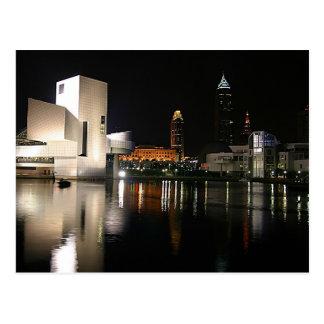 Panthéon Cleveland Ohio de rock Carte Postale