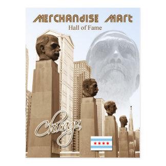 Panthéon de marché de marchandises, Chicago, Carte Postale
