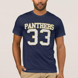 panthers_WHITE T-shirt