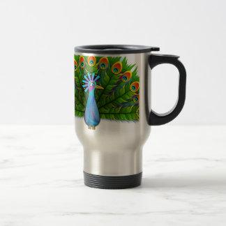 paon #3 mug de voyage