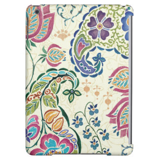 Paon décoratif et fleurs colorées