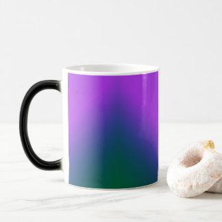 Paon Ombre de peluche Mug Magic