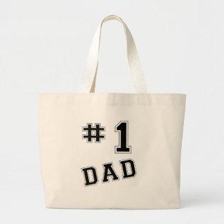 Papa #1 sac en toile