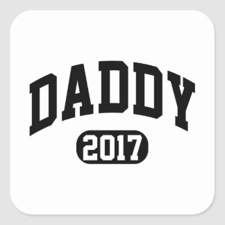 Papa 2017 sticker carré