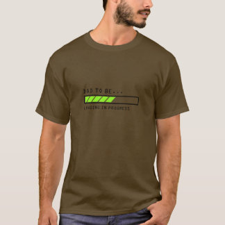 Papa à être, icône en cours de chargement de t-shirt