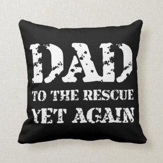 Papa à la délivrance oreillers