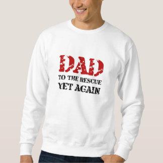 Papa à la délivrance sweatshirt