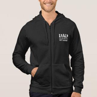 Papa à la délivrance veste à capuche
