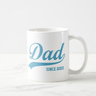 Papa bleu des textes depuis [année] la tasse