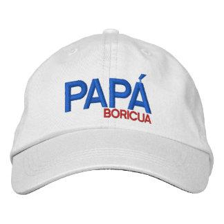 Papa Boricua : Porto Rico Casquette Brodée