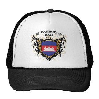 Papa cambodgien du numéro un casquette de camionneur