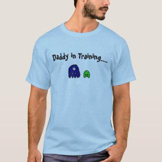Papa dans la formation t-shirt