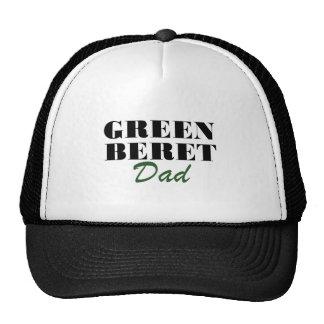 Papa de béret vert casquette de camionneur