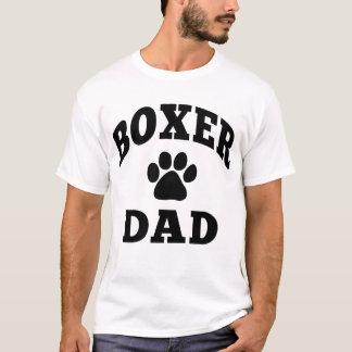 Papa de boxeur t-shirt