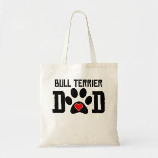Papa de bull-terrier sac fourre-tout