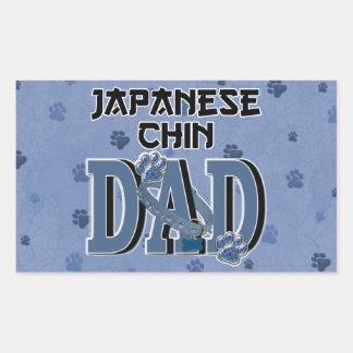 PAPA de Chin de Japonais Adhésifs