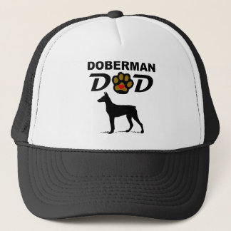 Papa de dobermann casquette