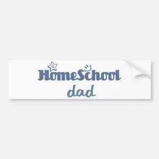 Papa de Homeschool Adhésif Pour Voiture