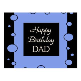PAPA de joyeux anniversaire Cartes Postales
