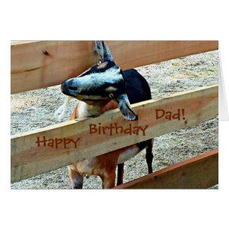 Papa de joyeux anniversaire d'enfant préféré (avec carte de vœux