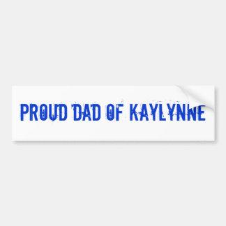 Papa de Kaylynne Adhésifs Pour Voiture