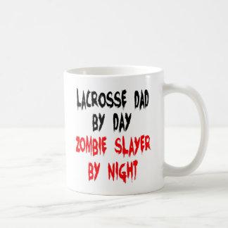 Papa de lacrosse de tueur de zombi mug