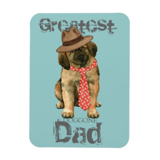 Papa de Leonberger Magnet Flexible