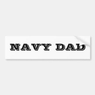 Papa de marine d'adhésif pour pare-chocs autocollant pour voiture