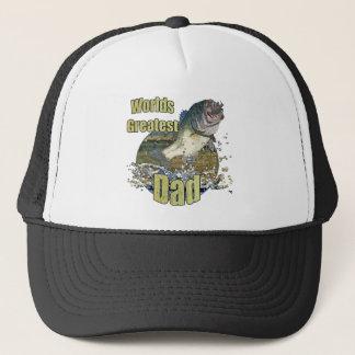 Papa de pêche casquette