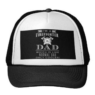 Papa de sapeur-pompier, papa frais casquette trucker