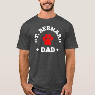 Papa de St Bernard T-shirt