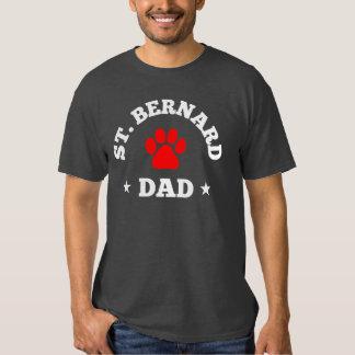 Papa de St Bernard T-shirts