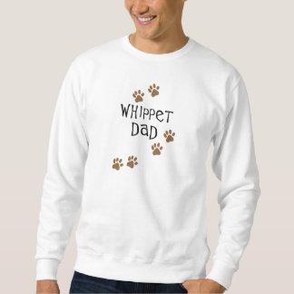 Papa de whippet pour des papas de chien de whippet sweatshirt