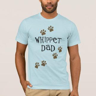 Papa de whippet pour des papas de chien de whippet t-shirt