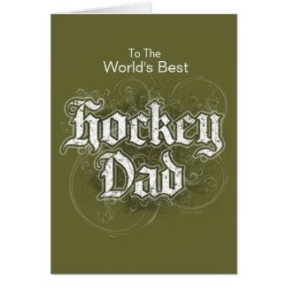 Papa d'hockey cartes