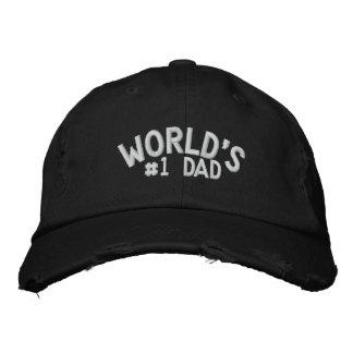 Papa du #1 du monde casquette brodée