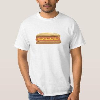Papa du monde de T-shirt de hot-dog de fête des