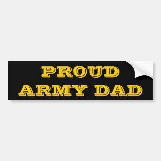 Papa fier d'armée d'adhésif pour pare-chocs autocollant de voiture