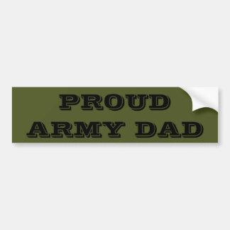 Papa fier d'armée d'adhésif pour pare-chocs autocollant pour voiture