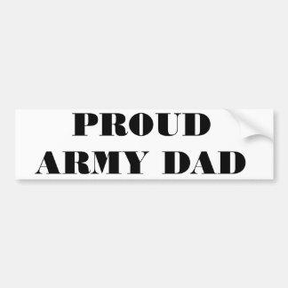 Papa fier d'armée d'adhésif pour pare-chocs adhésifs pour voiture
