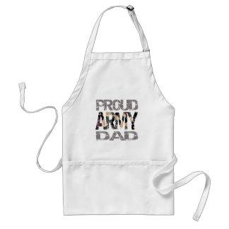 Papa fier d'armée tablier