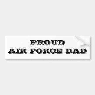 Papa fier de l'Armée de l'Air d'adhésif pour pare- Adhésif Pour Voiture