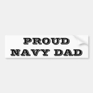 Papa fier de marine d'adhésif pour pare-chocs adhésif pour voiture