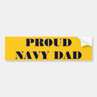 Papa fier de marine d'adhésif pour pare-chocs adhésifs pour voiture