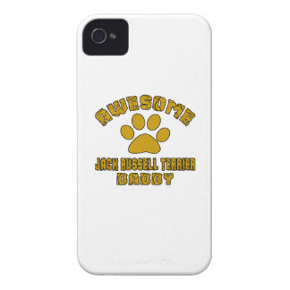 PAPA IMPRESSIONNANT DE JACK RUSSELL TERRIER COQUES iPhone 4