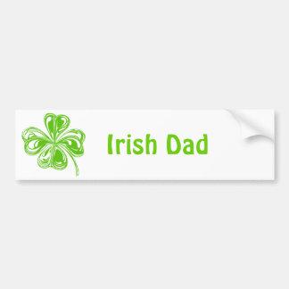 Papa irlandais adhésifs pour voiture