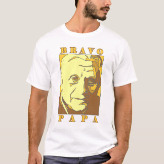 Papa le nouveau pape Benoît XVI de bravo T-shirt