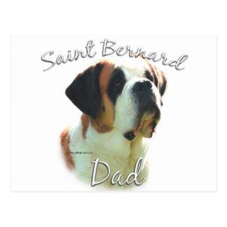 Papa (lisse) 2 de St Bernard Carte Postale