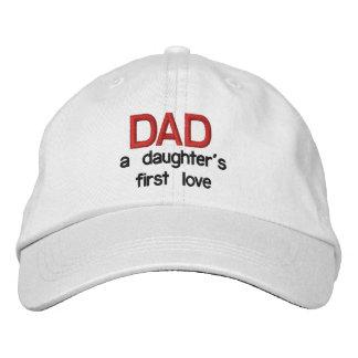 Papa passion d'une fille la première - casquette